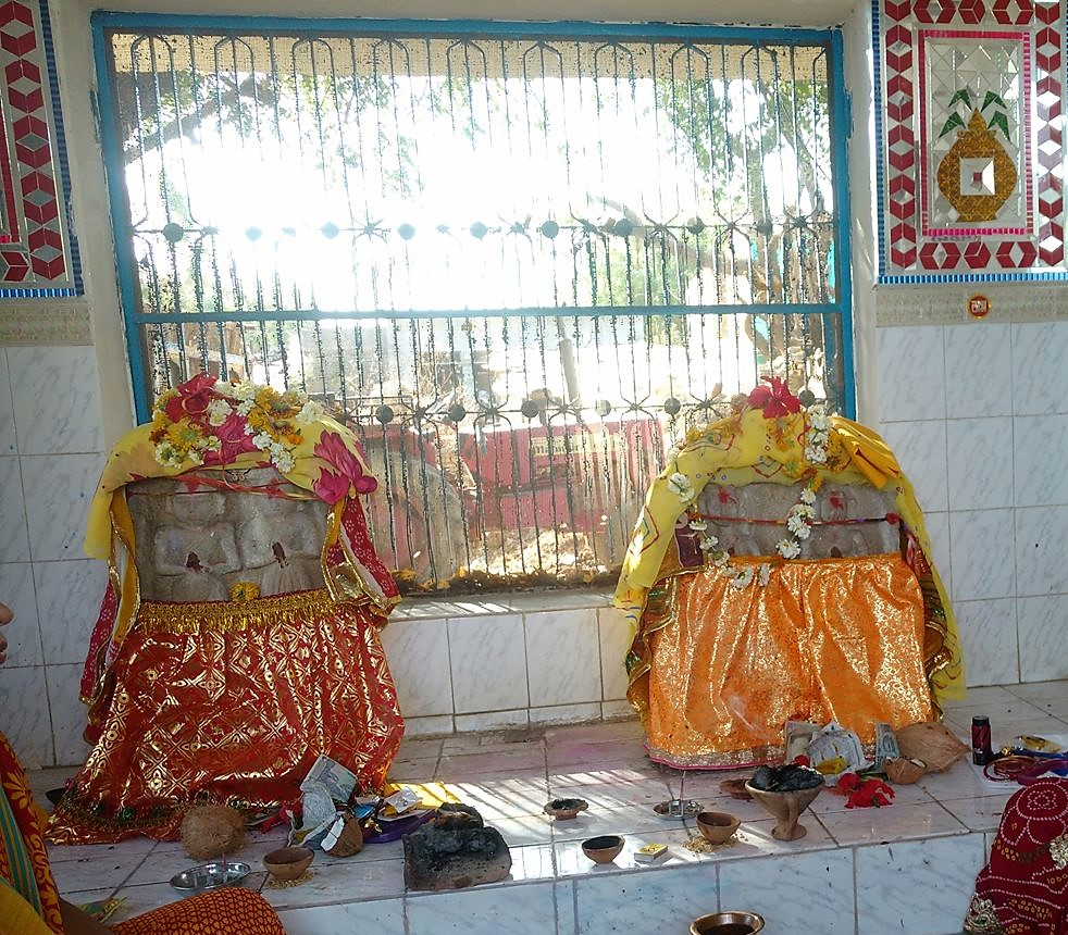 Mishra Family Sati Mata at Rudrakheda